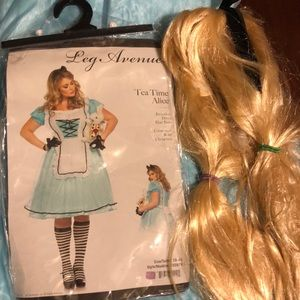 Halloween costume Alice in Wonderland 3x 4x